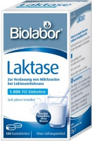Biolabor Laktase Kautabletten 120 St.