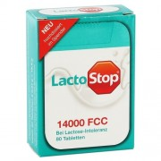 Lactostop 14.000 Fcc Laktose Tabletten im Spender 80 Stk