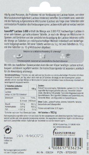 Taxofit Laktase Tabletten FCC 3.000
